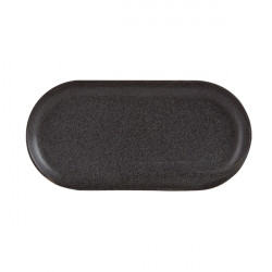 Platou oval rotunjit Graphite 30 cm 118130GR