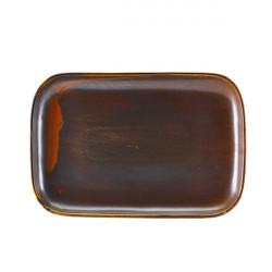 Platou Terra Porcelain Rustic Copper 34.5 x 23.5cm RP-PRC34