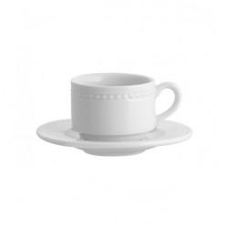 Set ceasca si farfurie cafea Perla 13cl 21101977