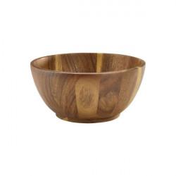 Bol lemn acacia 15Dia x 7cm WBWL15