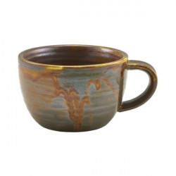 Ceasca cafea Terra Porcelain Rustic Copper 28.5cl CUP-PRC28