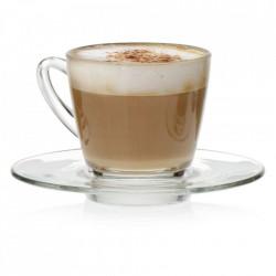 Farfurie cafea sticla Ultimo 15cm G1P01671