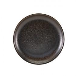 Farfurie coupe Terra Porcelain Black 24cm CP-PBK24