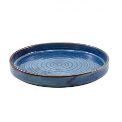 Farfurie prezentare Terra Aqua Blue 26cm PR-PBL26