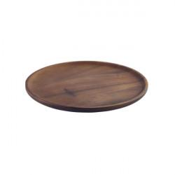 Platou acacia espetada 26 cm WSPL26