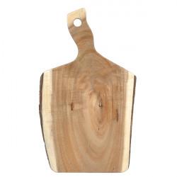 Platou lemn cu maner 26 x 18.5 x 2cm ACABB1610