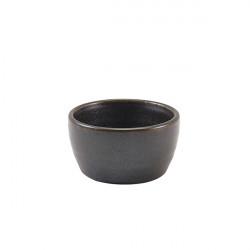 Ramekin Terra Porcelain Black 7cl/2.5oz RAM-PBK2