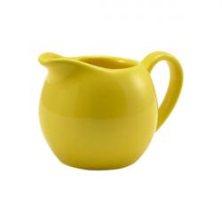 Recipient lapte Genware Porcelain 14cl Yellow 373114Y