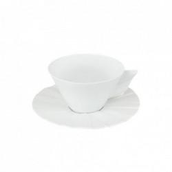 Set ceasca cafea cu farfurie Matrix Biscuit Matt 260ml 21117378