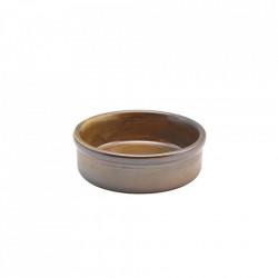 Vas cuptor Terra Porcelain Rustic Copper 10cm TD-PRC10