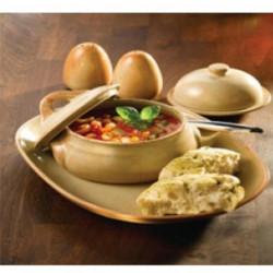 Vas supa cu capac Flame 11x6 cm C01275