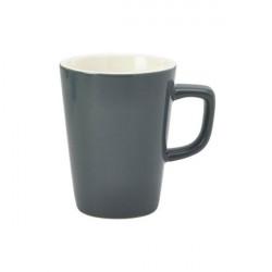 Cana mug Genware Porcelain 34cl Grey 322135G