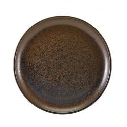 Farfurie coupe Terra Porcelain Black 27.5cm CP-PBK27