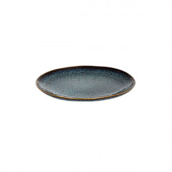 Farfurie plata Petrol Eccentric 22 cm 529361