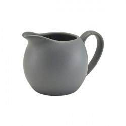Recipient lapte Genware Porcelain 14cl Matt Grey 373114MG