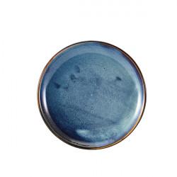 Farfurie coupe Terra Aqua Blue 24cm CP-PBL24