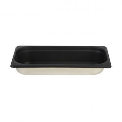 GN 1/3 65mm Gastronom inox silicon negru SG0019