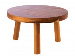Inaltator lemn rotund Element25cm 33256