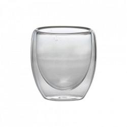 Pahar bauturi calde perete dublu espresso 100ml DWG100