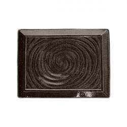 Platou dreptunghiular Organica Bronze Material 34x25 cm OC034335577