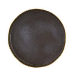 Platou rotund 40cm Bronze Gold Stone 37004096
