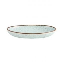 Platou servire oval Rustic Blend Turquoise 27cm 27020968