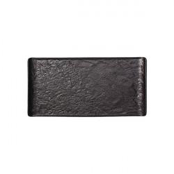 Platou Vulcania Black 33.5x20.5cm VU034330779