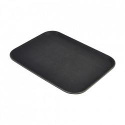 Tava rectangulara bar neagra 41x36cm GG1216BLK