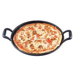 Tigaie fonta pizza 34.5cm dia x 2cm, CW30118