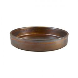 Bol prezentare Terra Porcelain Rustic Copper 18cm PB-PRC18