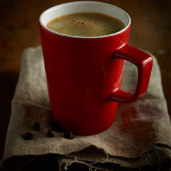 Cana mug Genware Porcelain 34cl Red 322135R