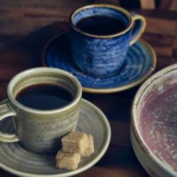 Ceasca espresso Terra Porcelain Aqua Blue 9cl CUP-PBL9