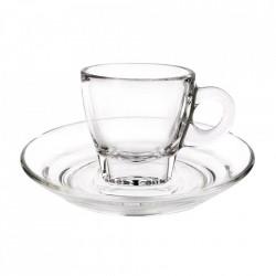 Farfurie espresso sticla 12cm G1P02472