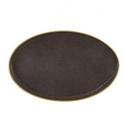 Platou oval 40cm Bronze Gold Stone 37004095