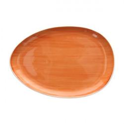Platou oval B-Rush Orange 31cm BI020313657