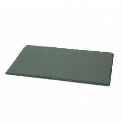 Platou Rectangular slate 30x20 cm R392030ARDE