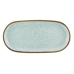 Platou servire oval Rustic Blend Turquoise 29,5cm 27020970