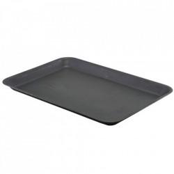 Tava Vintage Steel Black Tray 31.5 x 21.5cm SST3121BKV