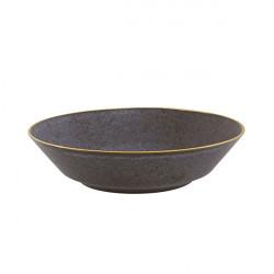Bol paste 25cm Bronze Gold Stone 37004088