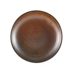 Farfurie adanca Terra Porcelain Rustic Copper 21cm DC-PRC21