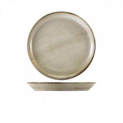 Farfurie coupe Terra Porcelain Grey 24cm CP-PG24