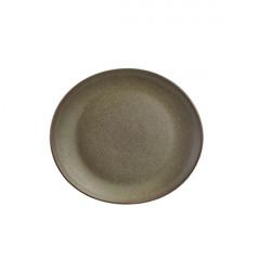 Farfurie ovala Terra Stoneware Antigo 21x19cm PL-AN21