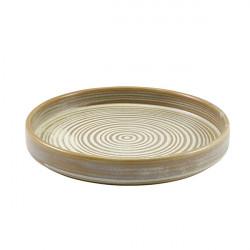 Farfurie prezentare Terra Porcelain Matt Grey 18cm PR-PMG18