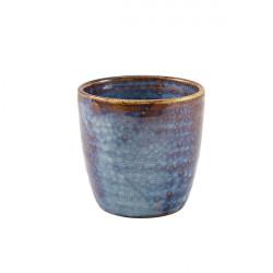 Pahar cartofi Terra Porcelain Aqua Blue 32cl/11.25oz CC-PBL32