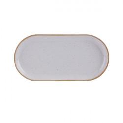 Platou oval rotunjit Stone 30 cm 118130ST