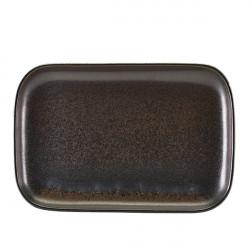 Platou Terra Porcelain Black 34.5 x 23.5cm RP-PBK34