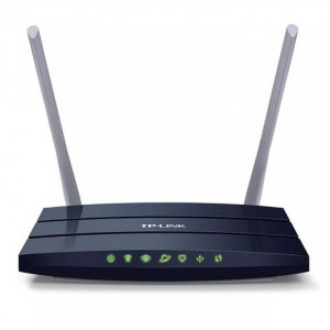 Router Wireless TP-Link ARCHER C50 v3, 1xWAN 10/100, 4xLAN 10/100, 4antene externe,dual-band AC1200 (300/867Mbps), Buton Wireless ON/OFF