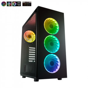 CASE FSP CMT340 PLUS MID TOWER ATX NO PS