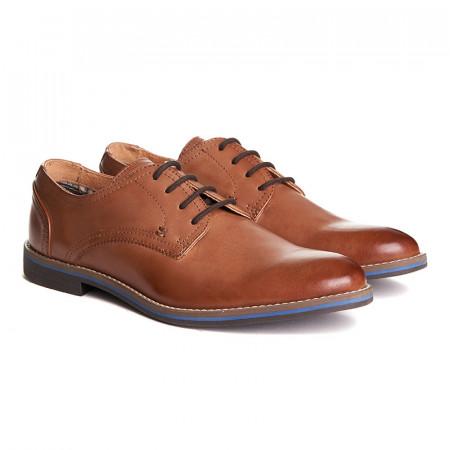 Pantofi barbati din piele naturala Antonio maro