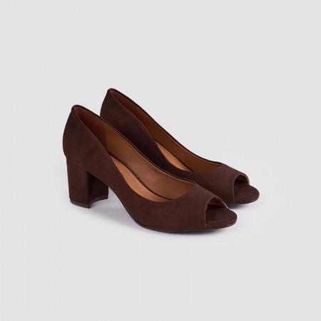 Pantofi Dama, GIANNI, Maron